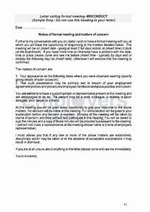 Sample Termination Letters Staff Discipline And Dismissal
