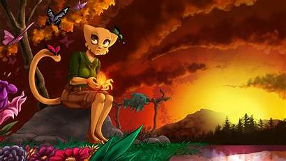 Furry Khajiit Anthro Prequel Desktop Wallpapers Backgrounds