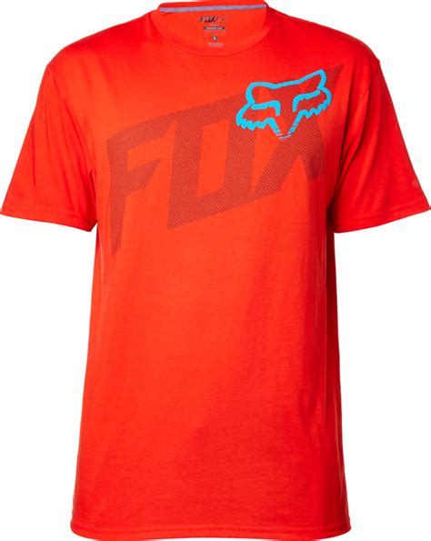 fox motocross t shirts fox racing mens condensed tech motocross short sleeve t