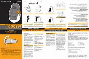 Plantronics M3000 Bluetooth Headset User Manual M3000 Ug 4