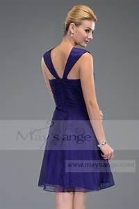 robe de cocktail c509 pourpre avec des larges bretelles With robe de cocktail combiné avec bague zarowsky