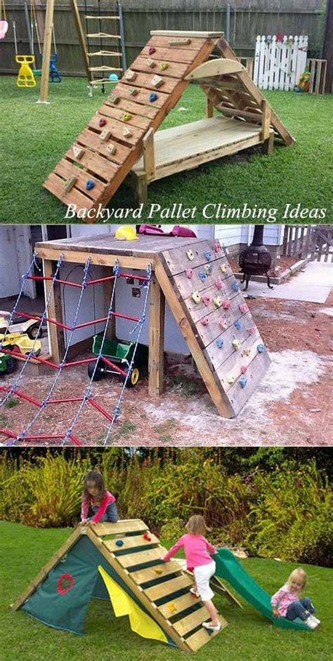 cute upcycled pallet projects  kids outdoor fun