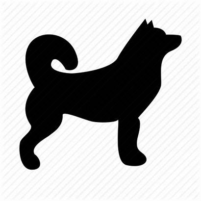 Husky Icon Dog Akita Clipart Siberian Library