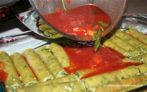 mangkuk tahan panas 300ml resep cannelloni panggang dengan bayam dan keju riccota
