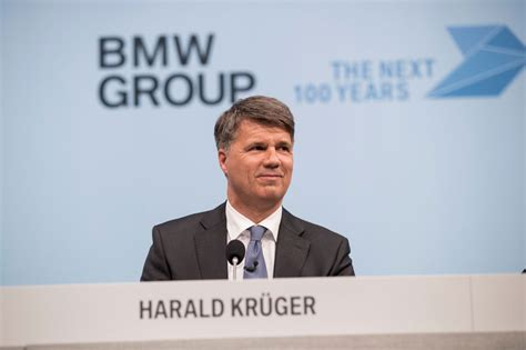 Bmw Group Ceo Reports On The Past And The Future.
