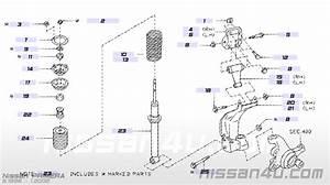 Nissan Primera P11 Front Wheel Bearings