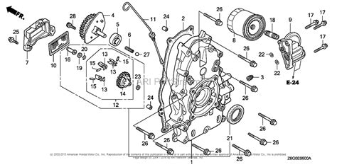 Honda Engines Gxu Vxe Engine Jpn Vin Gcask