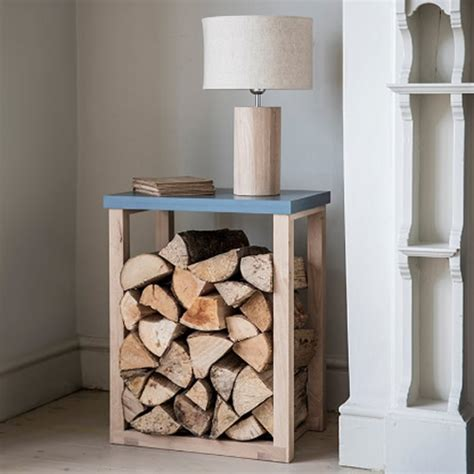 log storage side table garden trading tables