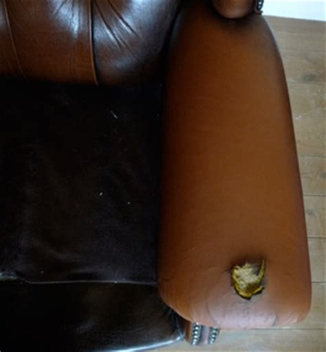 how to fix hole in leather sofa leather vinyl sofa furniture repair restoration repairs