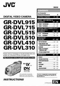 Gr-dvl310 Manuals