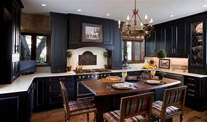 one color fits most black kitchen cabinets With kitchen cabinet trends 2018 combined with wall decor and art