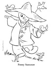 free printable fall coloring pages images