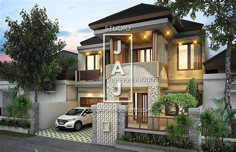 desain rumah  lantai  luas bangunan