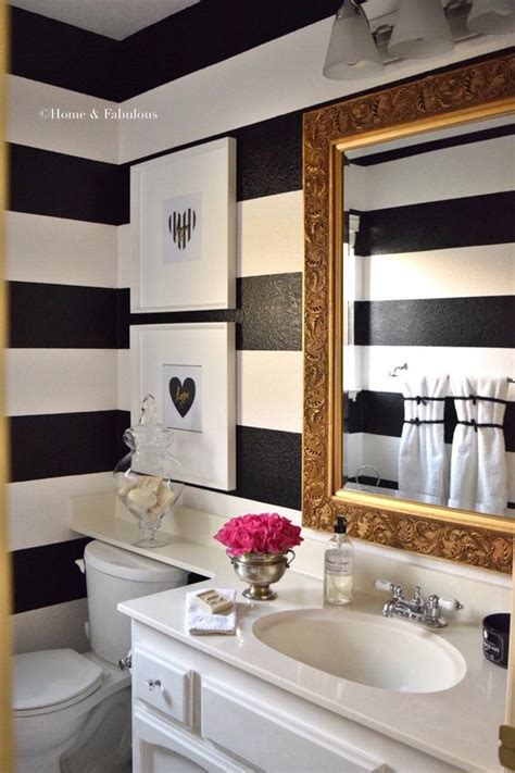 Decoration Ideas For Bathrooms Black And White by Powder Rooms Design Tips For Small Bathrooms