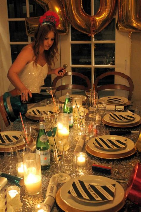 Entertaining New Years Dinner by The Most Nye Dinner Via Mint Social