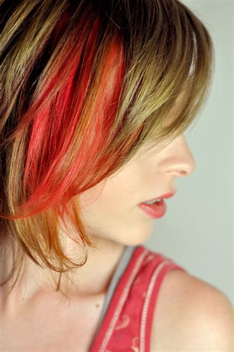 171 Best Hair Chalking Images On Pinterest Colourful