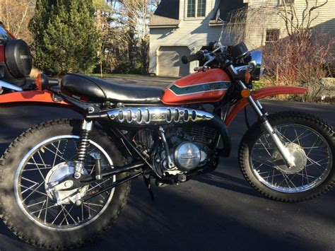 Suzuki 250 Motorcycle For Sale by 1973 Suzuki Ts 250 Motorcycles For Sale