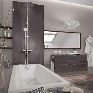 Baignoire à Poser : combin de douche poser sur gorge de baignoire comodo ~ Melissatoandfro.com Idées de Décoration