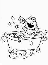 Coloring Elmo Bathroom Colouring Printable Activity Children Bestappsforkids Cad Childrens Getdrawings sketch template