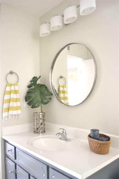 Round Bathroom Mirrors For Small Bathroom : Top Bathroom