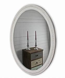 Spiegel Antik Oval : spiegel wei antik 80x60cm holz neu wandspiegel barock badspiegel flurspiegel ebay ~ Markanthonyermac.com Haus und Dekorationen