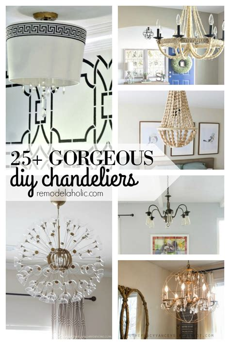 25 cheap but gorgeous diy remodelaholic 25 gorgeous diy chandeliers