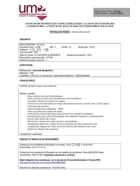poste de secretaire medicale fiche m 233 tier secretaire