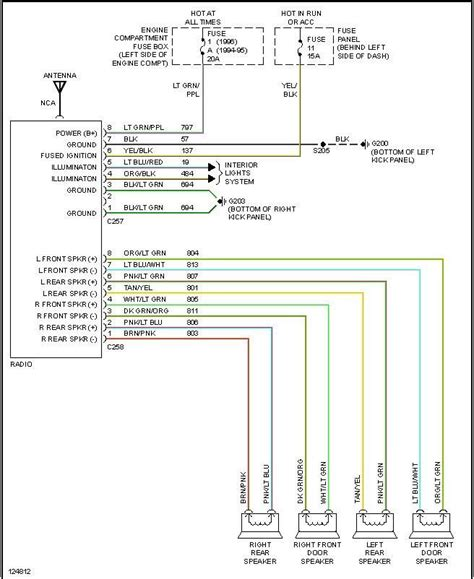 Radio Install Different Colors Then Diagrams