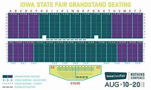 Iowa State Fair Grandstand Seating Chart Brokeasshome Com