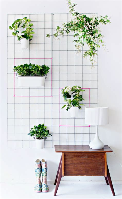 Pflanzen An Wand by Green Diy Wall Planter
