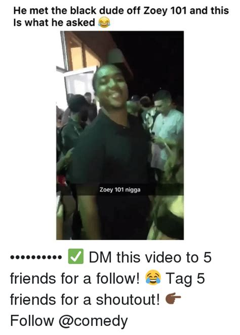 zoey follow friends shoutout dm comedy tag