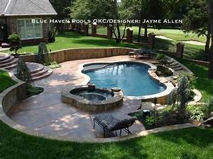 Cobble Stone Creek - Traditional - Pool - oklahoma city