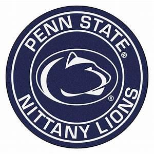 """Penn State Nittany Lions Logo Roundel Mat - 27"""""""