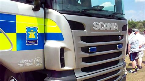 Scania Police Truck