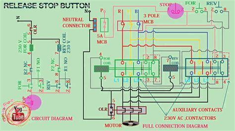 diagram wye delta starter connection diagram