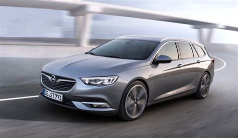 Opel Insignia Sports Tourer by 2017 Opel Insignia Sports Tourer Revealed Gm Authority