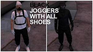 EASIEST BLACK JOGGERS Tutorial With ANY SHOES In GTA 5