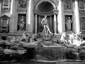 Trevi Fountain Black And White | www.imgkid.com - The ...
