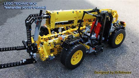 lego technic 42030 lego technic telehandler 42030 c model