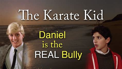 karate kid daniel   real bully  matthew