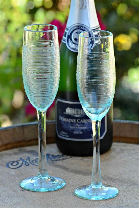 balinese champagne flute