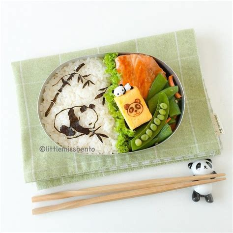 Pin Anime Panda Happy Lunchbox On 55 Best Bento Boxes Around The World Images On