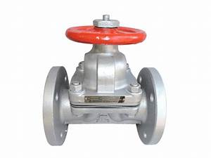 Manual Fluorine Lined Diaphragm Valve Lined Ptfe Weir Type