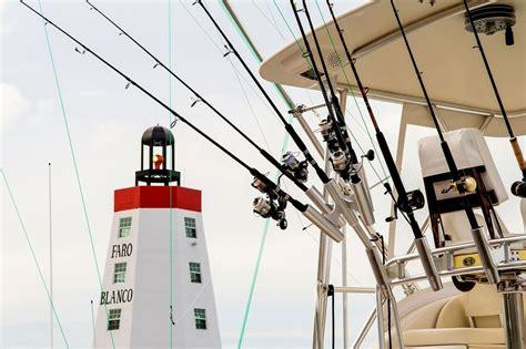 keys fishing fl bait fish lures florida lighthouse poles ready boat
