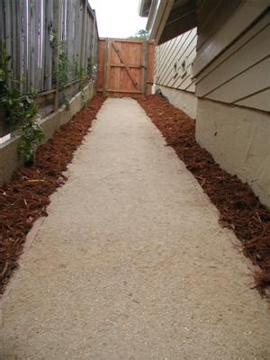 de co granite how to make a deco garden path