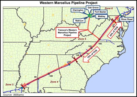 Transco Project Would Tap 1-2 Bcf/d of Marcellus/Utica Gas ...