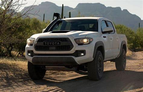 Toyota Tacoma Upgrades by 2019 Toyota Tacoma Upgrades Trd Pro Specs Truck Release