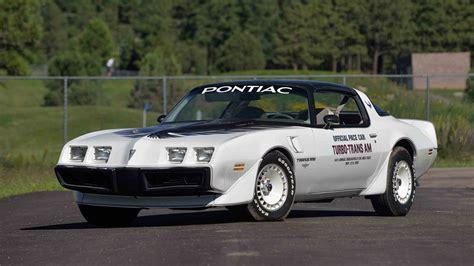 Trans Am Car 2016 by 1980 Pontiac Turbo Trans Am Pace Car Edition W31