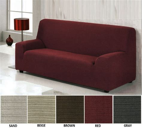 Loveseat Covers by Modern Elastic Stretch Slipfit Covers For Sofa Loveseat