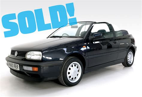 1997 Vw Cabrio by 1997 Vw Golf Cabrio Cold Classics